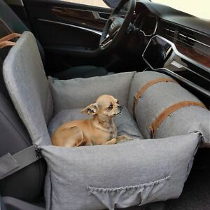 Premium Dog Booster Seat Small Pets Pet Car Seat Protector Portable Travel Bed