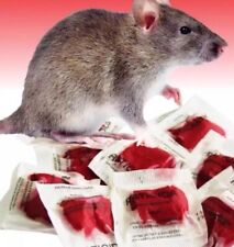 This Stuff Really Works Rodent Mouse Rat Poison Bait 100 Packs Red Professional
