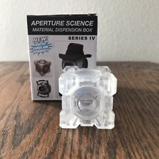 Portal 2 Series IV Invisible Weighted Storage Cube in Excellent Condition w/