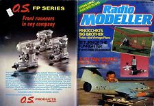 RADIO MODELLER MAGAZINE 1988 APR MIKE FREEMAN'S FINALE FREE PLAN, PINOCCHIO