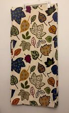 Target Home shower Curtain Cotton Leaves Fall Cream Design Floral