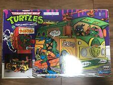 Playmates Japan Takara 1989 TMNT Teenage Mutant Ninja Turtles Party Wagon RARE!