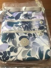 Fab Kipling Keiko Small Crossbody Bag In Floral Lagoon from US - RRP $59