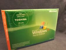 Microsoft Windows XP Home Edition Shrink-wrapped New Toshiba Satellite 1405 ed