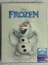 Disney FROZEN 3D/2D Blu-ray Steelbook BLUFANS OLAF New #602