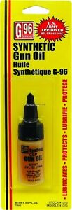 G96 Army Approved Synthetic CLP Gun Oil Lubricant .04 Oz Bottle 1070