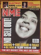 NME New Musical Express 3/4/99 Mogwai, Nas, Kurt Cobain Fugazi, Kiss, Bill Hicks