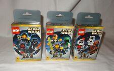 STAR WARS LEGO MINI FIGURE Sets 3340/3341/3342 - MISB * VERY  RARE - OVP/NEW