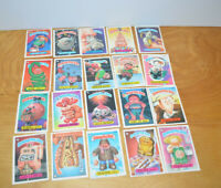 Vintage GARBAGE PAIL KIDS TRADING CARDS Lot 1986 1987 1988 GPK Stickers Topps 21