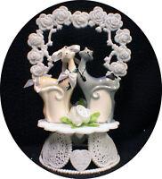 Kitty Cats Topper Top Wedding Pet Birthday Shower Groom engagement  centerpiece