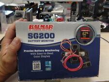Balmar SG200 Battery Monitor Kit w/Display Shunt & 10M Cable 12-48 VDC SG200