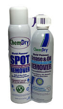ChemDry Pofessional Strength Spot Remover20oz+Grease & Oil 18oz Combo Pack