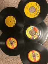 "Cricket Columbia LOT x5  7"" 45 rpm Record Childrens Kids"