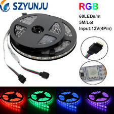 5M SMD 5050 RGB Waterproof 300LED Flexible 3M Tape Strip Light DC12V