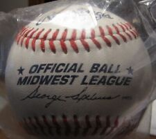MIDWEST LEAGUE OFFICIAL BASEBALL NEW