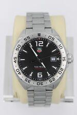 Tag Heuer WAZ1112.BA0875 Formula 1 One F1 Watch Mens Black Mint Crystal EUC SS