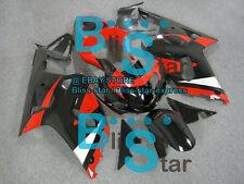 Black Glossy GSX-R600 Fairing Fit SUZUKI GSXR600 GSXR750 2002 2001-2003 40 A7