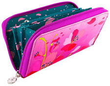Pylones Women Wallet Cherry Blossom Pink Sakura Floral French Purse Girls Lady