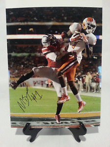 Martavis Bryant Signed Clemson Tigers 11x14 Photograph Noauth0268 Steelers