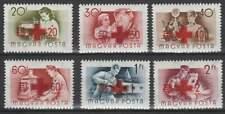 Hongarije ongestempeld 1957 MH 1482-1487 - Rode Kruis / Red Cross