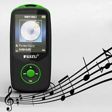 TFT Bluetooth MP3 Player support TF card 4G H storage Built in FM Radio Green MP