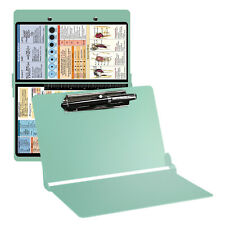 Foldable Nursing Clipboard with Pen Holder Aluminum Nurse Student Ref Charts