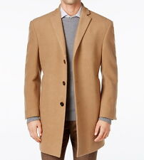Calvin Klein Men's Prosper X-Fit Overcoat - Camel, 48R (XL)