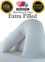 V Shaped Pillow - Back Support Nursing Pregnancy Maternity Orthopedic Pillows