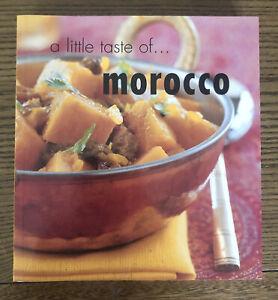 A LITTLE TASTE OF MOROCCO - PAPERBACK - COOKBOOK