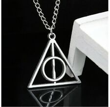COLLANA CIONDOLO TRIANGOLO HARRY POTTER I DONI DELLA MORTE DEATHLY HALLOWS