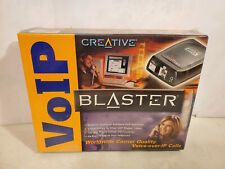 Creative VOIP Blaster Voice over IP calls.  New sealed.