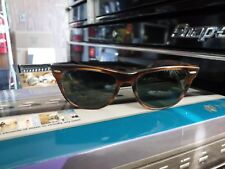 Vintage B & L Ray Ban Wayfarer II Sunglasses BL Bausch Lomb Rayban