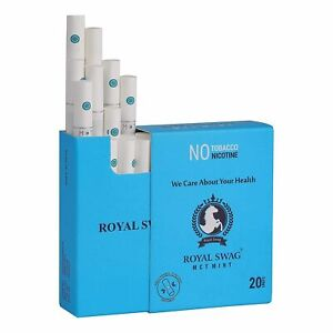 ROYAL SWAG HERBAL AYURVEDIC STICK MINT BUTTON 20 UNIT PACK