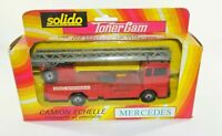Solido Toner Gam No.361 MERCEDES CAMION ECHELLE  Boxed