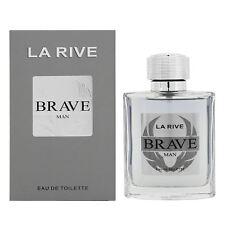 La Rive Brave For Men Perfume Edt 100ml 3.0oz Novo em folha