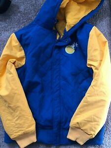 The Hundreds Jacket Blue/Yellow XL