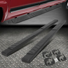 "FOR 19-20 SILVERADO SIERRA BLACK 5"" CREW CAB FLAT SIDE STEP BAR RUNNING BOARD"