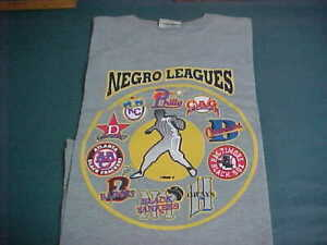 J-HEAD NEGRO LEAGUES XL T-SHIRT ~ THE SPIRIT OF THE PAST ~ RETRO TEAMS/AUTHENTIC