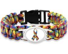 Kids / Adult Autism Childrens Paracord Bracelet Wristband