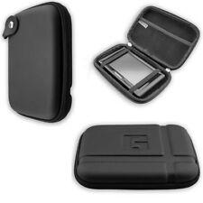 caseroxx GPS-Case voor Navitel E100 in black gemaakt van faux leather