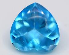 Designer Cut Brazil NATURAL Swiss Blue TOPAZ VVS