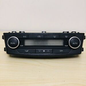 2009-2012 Toyota Avensis MK3 T270 Heater Climate Control Unit Panel 55900-05350