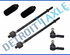 Brand New (6) Inner + Outer Tie Rod End + Boot Kit for Mazda 323 Protege