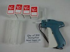 500 Sale Price Tags 500 Barbs Tagging 1 Regular Economy Tagging Gun