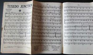 WILLIAM JOHNSON TUXEDO JUNCTION PIANO CONDUCTOR SHEET MUSIC (1940) USA