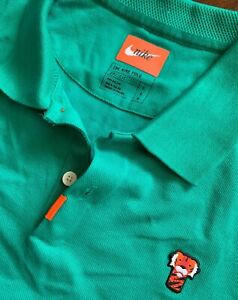 """Nike Tiger Woods """"Frank"""" Polo, New! Men's Large"""