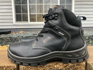 Men's ECCO Track Gore Tex Leather Hiking Boots Size 44 U.S. Size 10.5