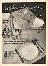 W9310 RICHARD-GINORI - Ceramiche d'arte - Pubblicità del 1939 - Vintage advert