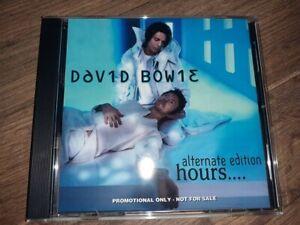David Bowie - HOURS - Alternate Edition - CD Album Brand New