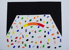 Concetto Pozzati serigrafia 50 x 70 Arte Moderna e contemporanea